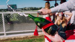 PreviewLarge-Mumm Grand Cordon bottles New Zealand Auckland cup sabrage