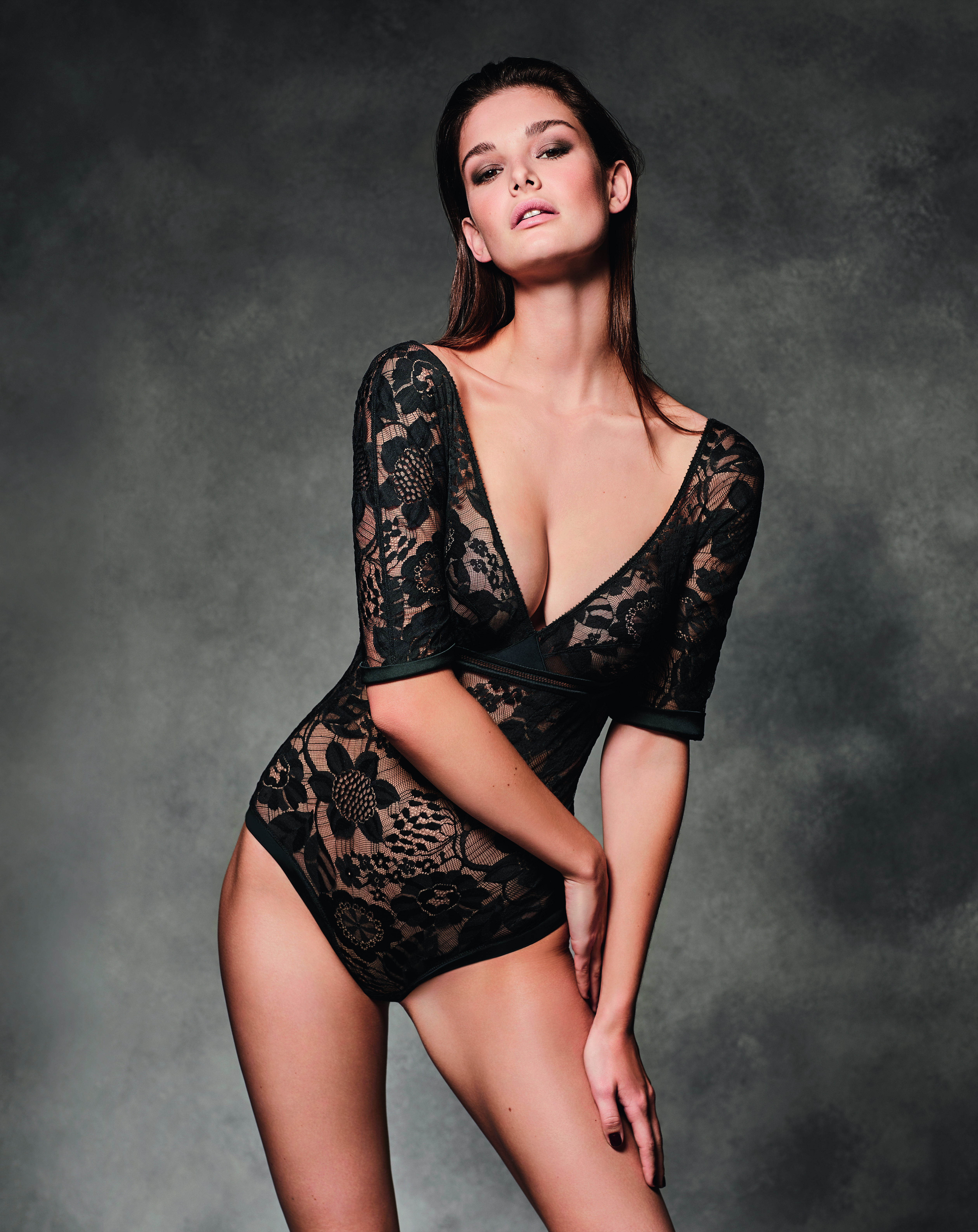 38fa35177 ERES  warming-up the upcoming winter with a sexy Winter Lingerie ...