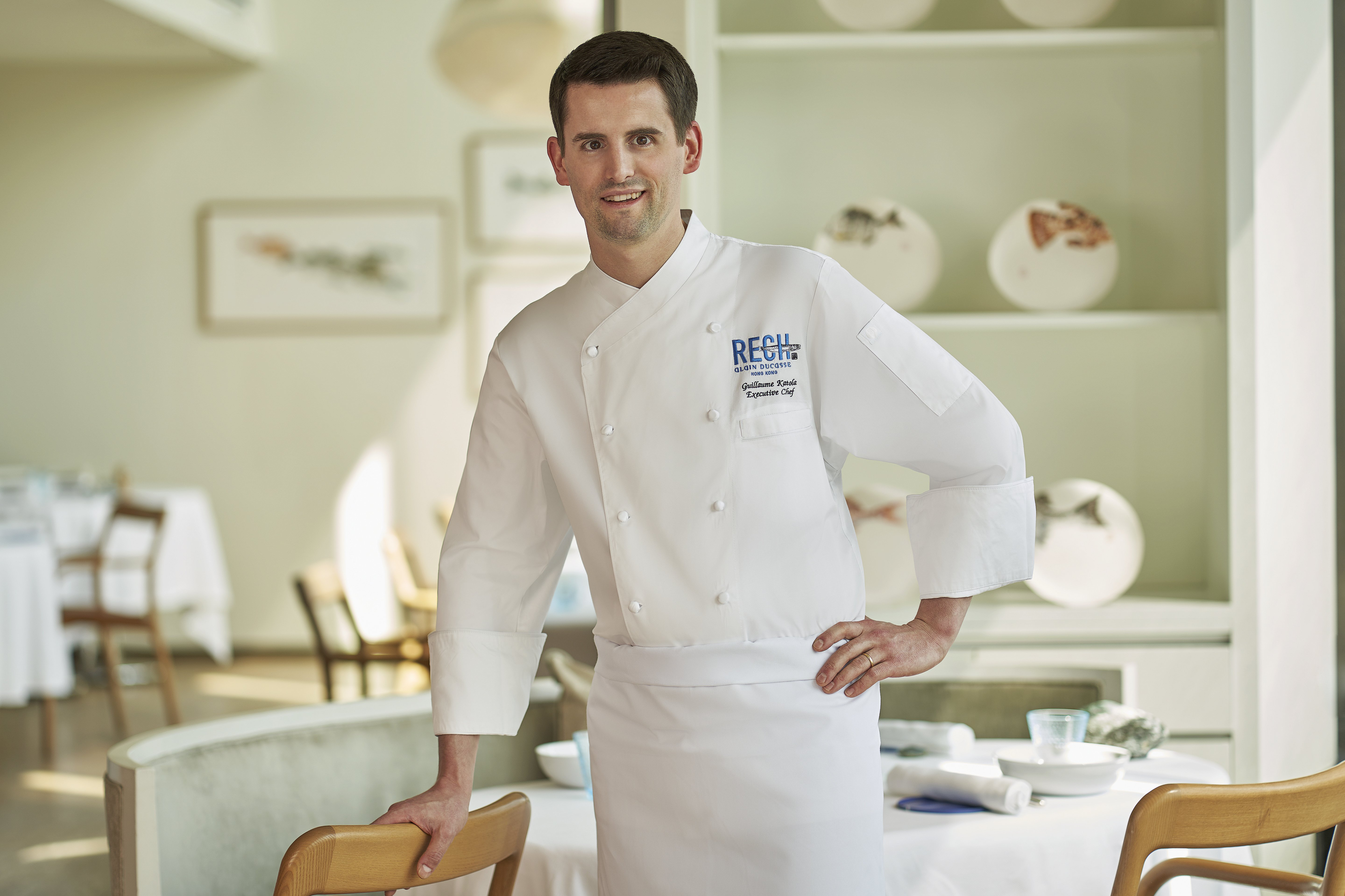 Guillaume Katola Executive Chef Rech By Alain Ducasse