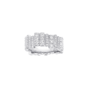 GEM DIOR RING 18K White Gold and Diamonds